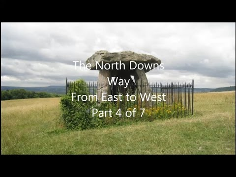 North Downs Way, East to West, Part 4 of 7 - Lenham to Trottiscliffe