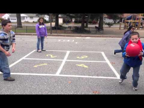 Grades 3-5 Recess Games