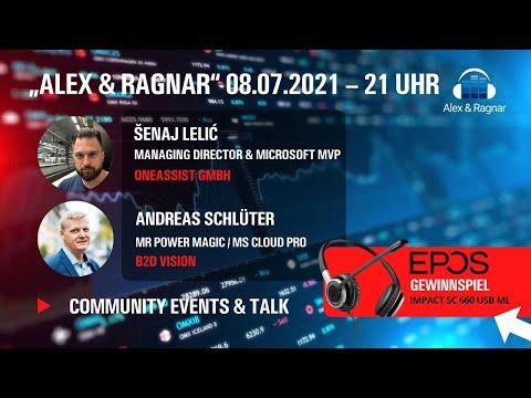 ⚡ Alex & Ragnar Show # 46 mit Šenaj Lelić zu Visio + PowerBI Integration in Microsoft Teams ⚡
