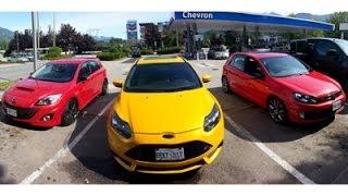 143CAR.com - Hot Hatch Test: Ford Focus ST vs. Mazdaspeed 3 vs. Volkswagen GTI