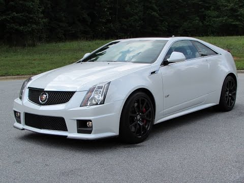 2015 Cadillac CTS-V Coupe Start Up, Exhaust, Test Drive, and In Depth ...