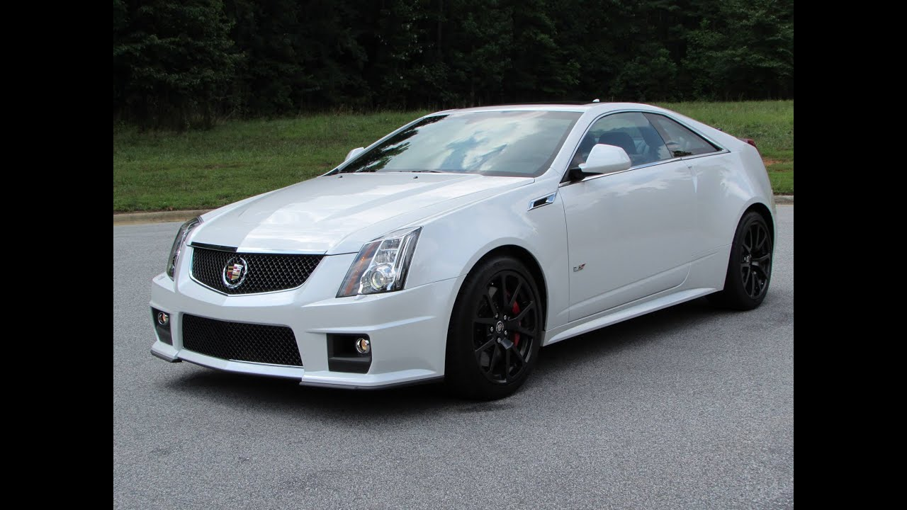 2015 Cadillac Cts V Coupe Start Up Exhaust Test Drive