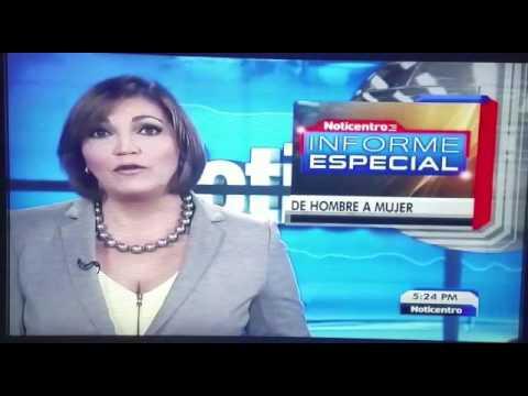 De hombre a mujer P2- Noticentro 4 Wapa TV Amar Sotomayor