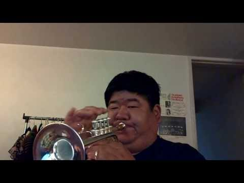 Bach-Artisan Piccolo Trumpet 3 (Aria from the Christmas Oratorio)