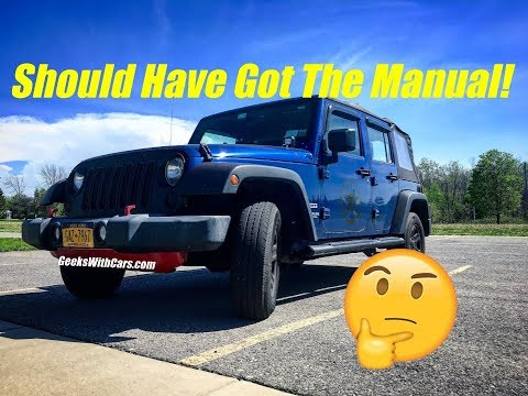 Did I Make A Mistake Buying An Automatic Jeep Wrangler Unlimited? | Jeep Wrangler Automatic Update
