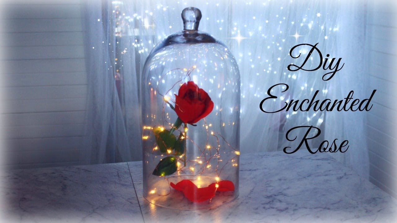 Diy Enchanted Rose Beauty And The Beast