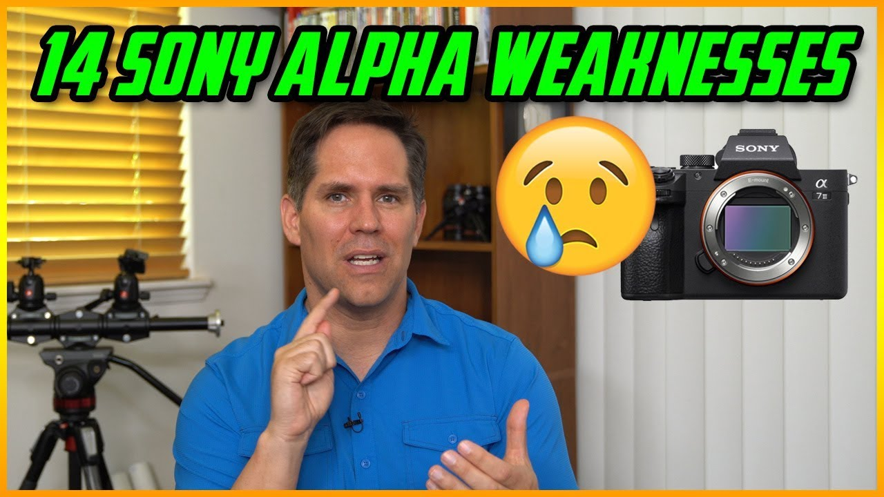 These are 14 weaknesses of Sony Alpha cameras - DIY Photography