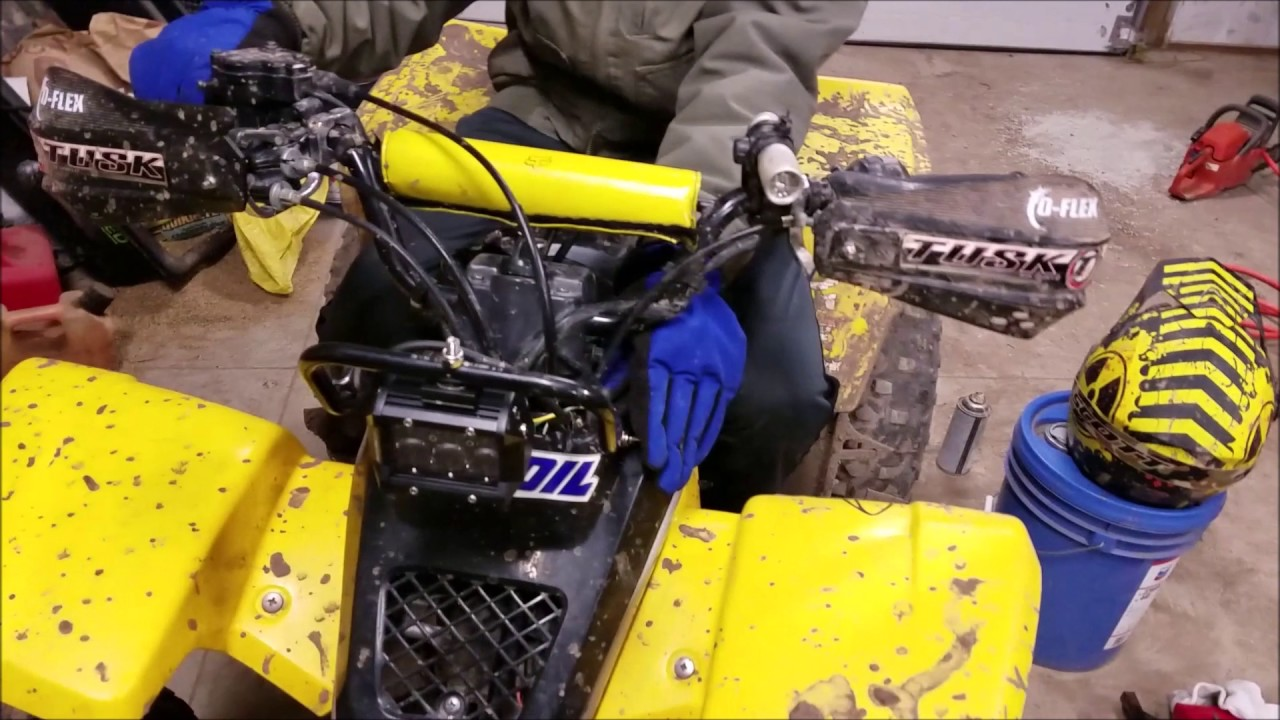 How To Put A Light Bar On Yamaha Blaster Youtube Wiring Diagram 1998