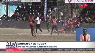 Women'S 15s Rugby  Kru 15s Franchise Slated For The 28th