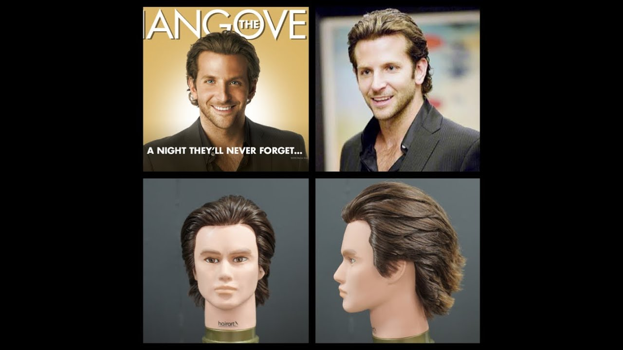 Bradley Cooper The Hangover Haircut TheSalonGuy YouTube
