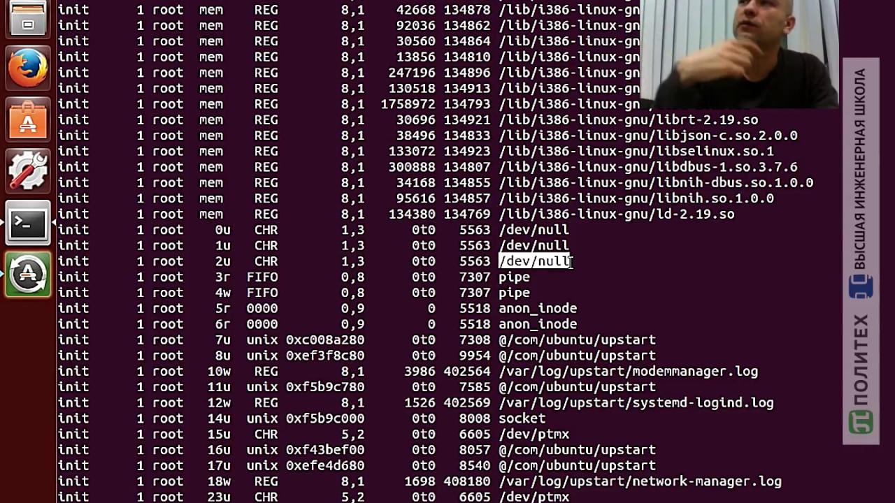 Мониторинг файлов, устройств и сетевых сокетов в Linux