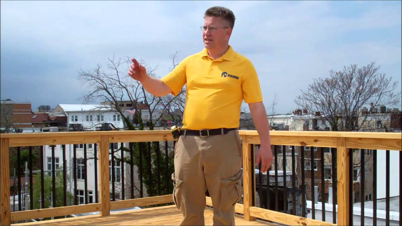 Tpo Roof And Roof Deck Youtube