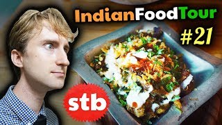 DELECTABLE Indian Chaats!! // Indian Food Tour #21 in New Delhi, India