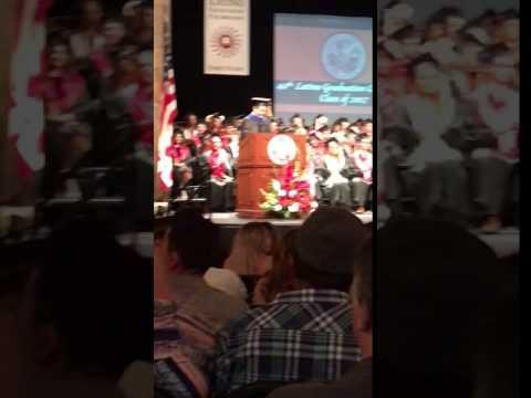 Betty alumni Latino grad
