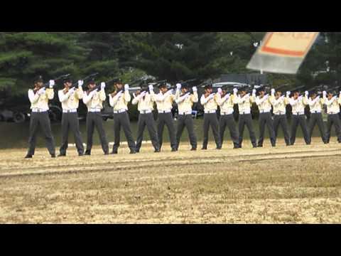 陸上自衛隊福島駐屯地60周年記念式典 儀仗隊