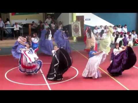 25 Julio 2016. No 05 .Ticas Lindas - La Fiesta - Pasión. Colegio Vocacional Monseñor Sanabria