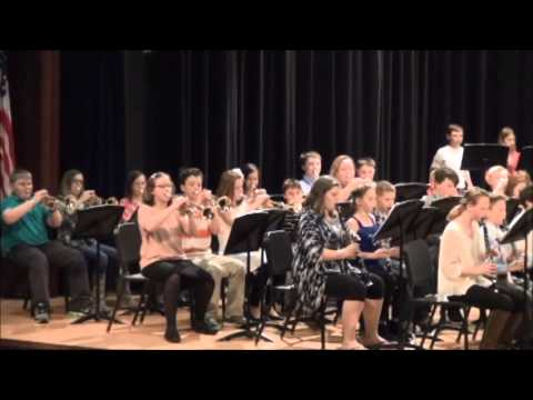 Superior Middle School 6th Spring Band 2016 DVD