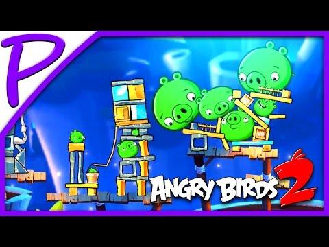Злые птички 2 #2 (Angry Birds 2). Игра для Детей #РАЗВЛЕКАЙКА