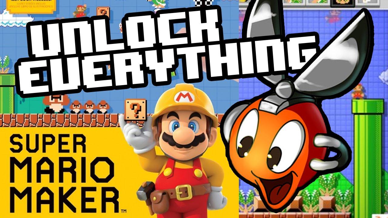 1d701f580e4 Unlock ALL ITEMS in Super Mario Maker FAST - Cutman Plays - YouTube