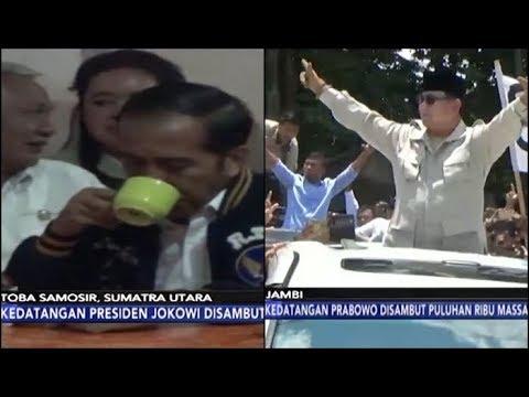 Jokowi Ngopi Tengah Malam di Toba Samosir | Prabowo Sapa Pendukung di Jambi - iNews Pagi 15/03
