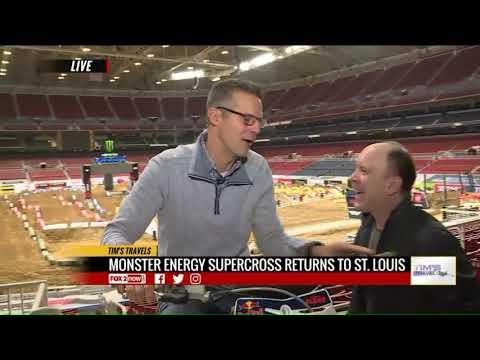 Tim`s Travels: Monster Energy Supercross Retunns To St. Louis For 2020 Season