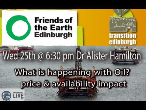 Dr Alister Hamilton - What is happening with Oil?