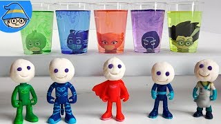 Pj Masks Wrong Heads Toys, Pj Masks Laboratory Insect Vehicles - Learn Colors for Kids