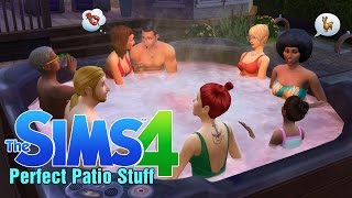"""""""The Sims 4 Perfect Patio Stuff"""" (First Impression)"""