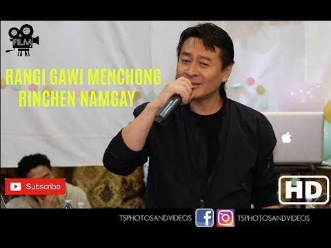 Bhutanese Song Rangi Gawi Menchong || Rinchen Namgay || New York ||HD