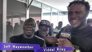 Viddal Riley interviews Jeff Mayweather about the crazy KSI vs. Logan Paul press conference