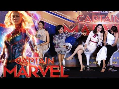 Download Captain Marvel Chennai Promotion - Full Event   Kajal Aggarwal, Samantha, Tamannaah, Rakul Preet