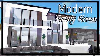 ROBLOX - France Bienvenue à Bloxburg: Modern Family Home (70k)