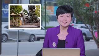 澳洲新闻| 起重机倒塌!墨尔本一住宅被砸  墨尔本工会超10万人大游行 CBD交通瘫痪