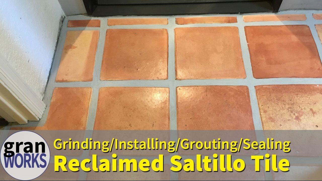 Installing Reclaimed Saltillo Tile