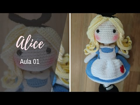 AULA 1 - ALICE (Barroca Ateliê Oficial)