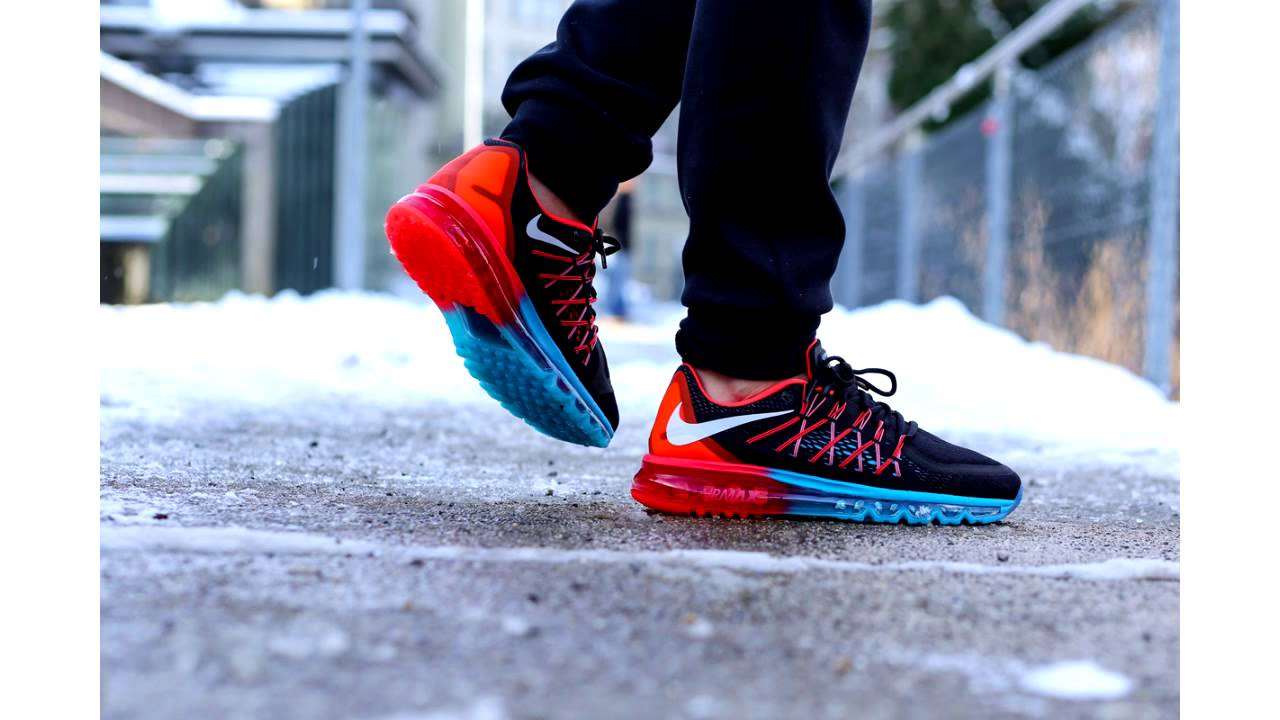nike air max 2015 black\/bright crimson\/blue legionella