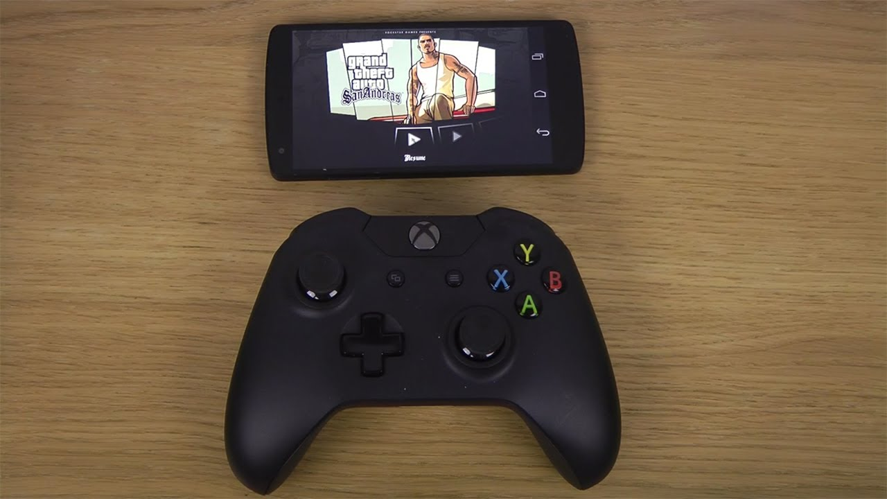 Gta San Andreas Google Nexus 5 Android 4 4 Kitkat Xbox One Controller Gameplay Youtube