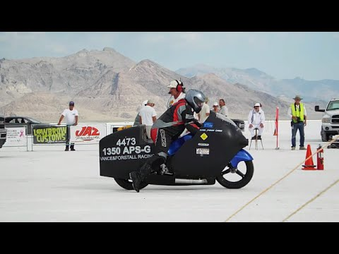 Bonneville Speed Week 2016 Motorcycles Compilation