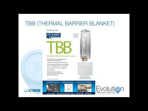 TBB Thermal Barrier Blanket System Installation