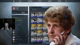 CS:GO - Case Opening med kåt Malmö-mormor