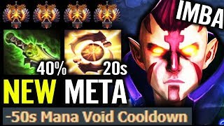 WTF Ethereal Blade for Anti-Mage ??? - NEW META 9000 mmr Build Dota 2 gameplay