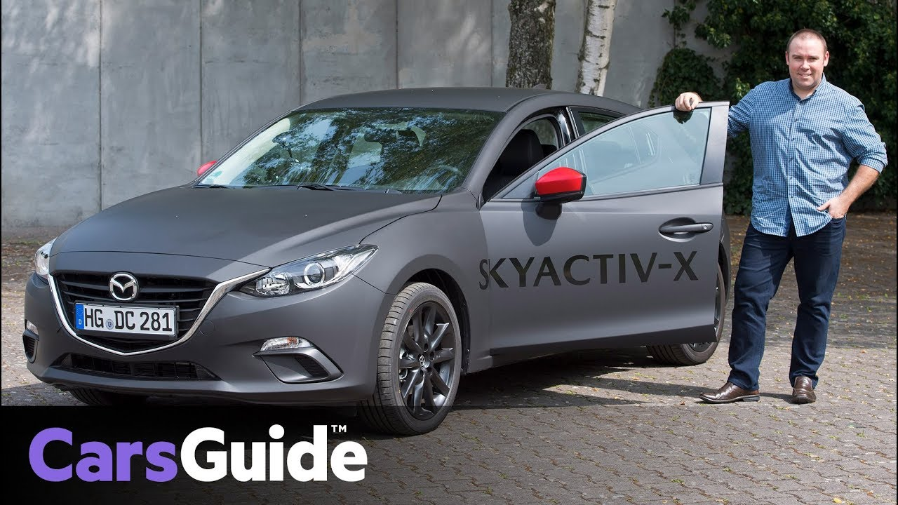 mazda 3 2019 review skyactiv x preview drive video youtube. Black Bedroom Furniture Sets. Home Design Ideas