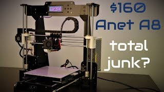 Anet A8 - The best cheap DIY 3D printer in 2018?