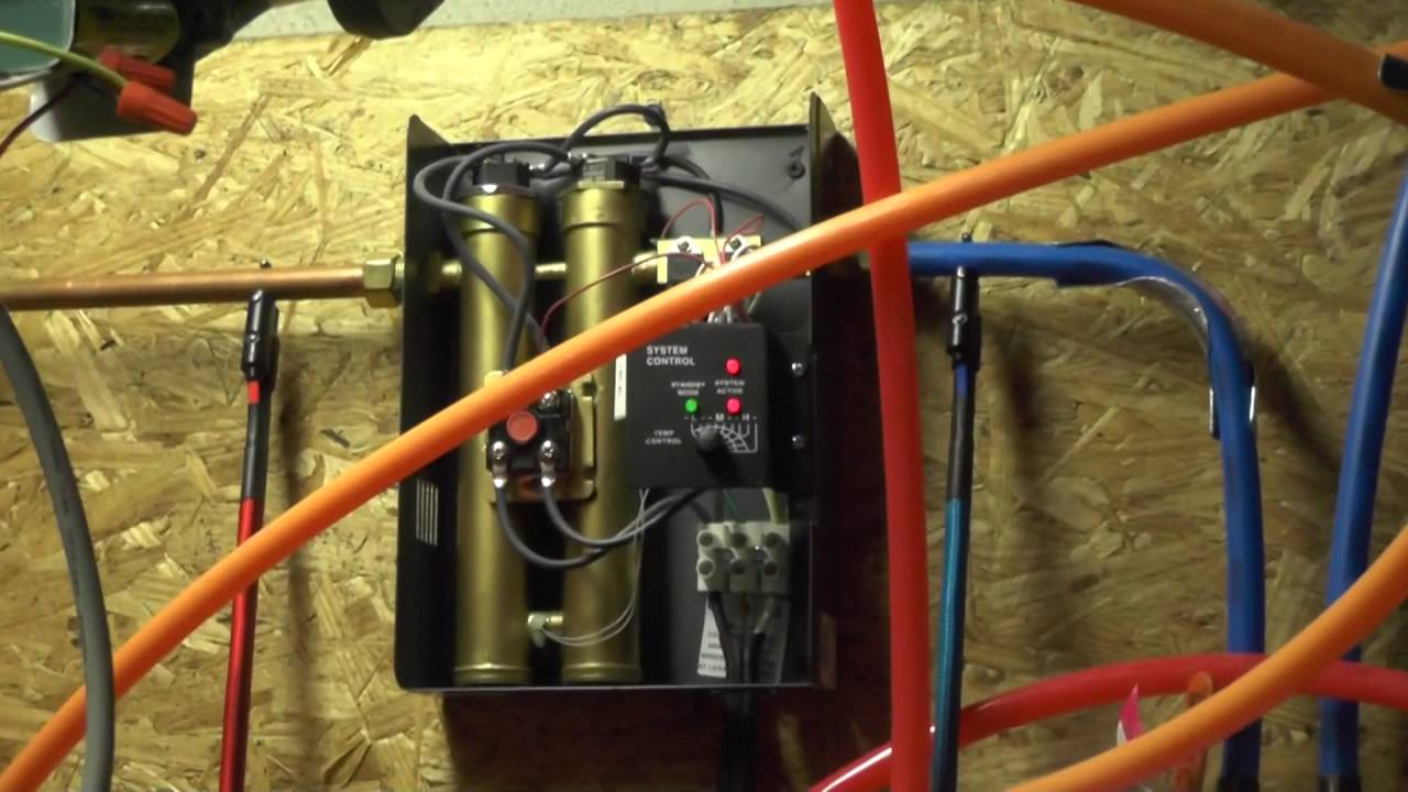 Rheem RETE13 tankless water heater operation  YouTube