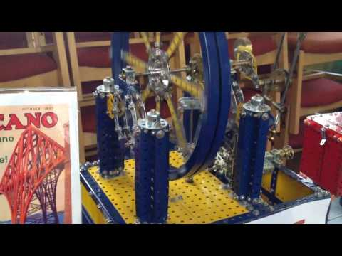 Meccano Club's exhibit at Greenock Model Rail Show 2016