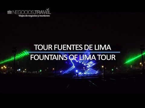 Visite Lima, Perú | Tour Fuentes de Lima | Reservas www.negocios.travel