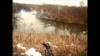 Рыбалка в ЛНР Ополченцы ловят рыбу в Северском Донце