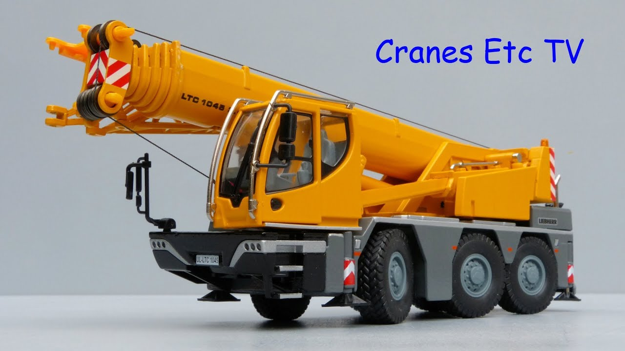 Mobile Crane Kje : Conrad liebherr ltc mobile crane by cranes etc tv