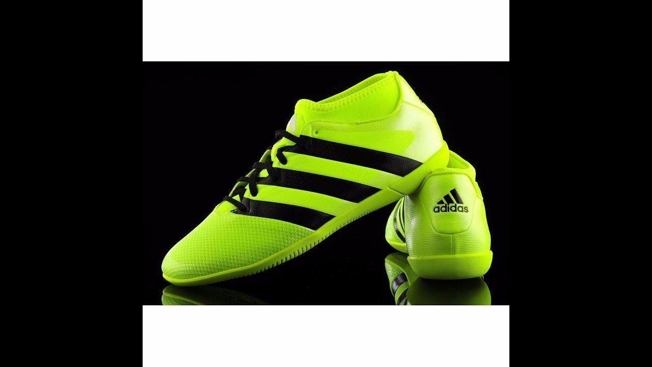 114a1724e53b Unboxing Review Sepatu Futsal Adidas Ace 16.3 Primemesh In AQ3419 ...