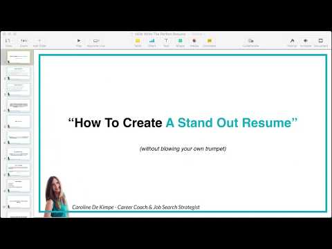How To Write A Resume That Gets You The JOB! (Complete Training)